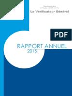 Rapport_Annuel_2015 Verificateur General Mali
