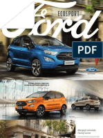 Ford Noul Ecosport Brosura