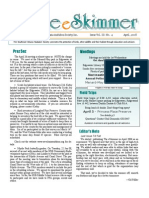 April 2008 Skimmer Newsletter Southeast Volusia Audubon Society