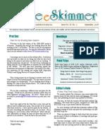 September 2008 Skimmer Newsletter Southeast Volusia Audubon Society