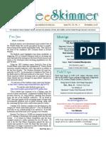 November 2008 Skimmer Newsletter Southeast Volusia Audubon Society
