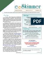 December 2008 Skimmer Newsletter Southeast Volusia Audubon Society