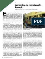 Equipamento Manutenção via - Revista Ferroviária