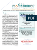 January 2009 Skimmer Newsletter Southeast Volusia Audubon Society