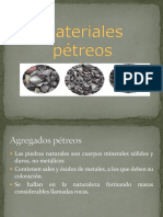 Clase 1 Materiales Petreos