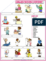 occupations vocabulary esl matching exercise worksheets for kids.pdf