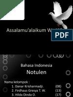 ppt notulen