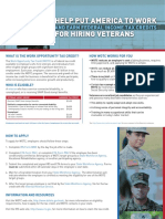 Employers WOTC  Veterans (Hire American!)