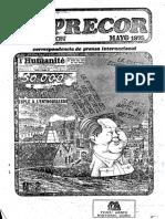Inprecor 1975 Mayo Seleccion