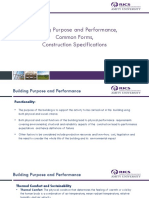 5. Building Purpose and Performance