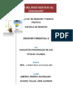 Derecho Cambiario en El Perú