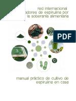 Manual Cultivo Espirulina Bq 1