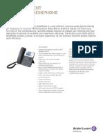 8001 Handset Datahseet