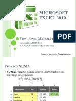 Sesion  FuncionesMatematicas