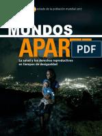 UNFPA PUB 2017 El Estado de la Población Mundial