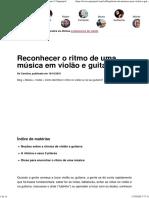 Como Identificar o Ritmo No Violão Ou Na Sua Guitarra Superprof