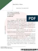 El pedido de desafuero de Julio De Vido