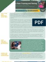 AFTT EIS/OEIS NEPA Process and Community Involvement Fact Sheet