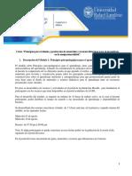 Planificación Del Módulo 1 - Principios Psicopedagógicos Para El Aprendizaje Dra. S. Cruz