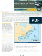 AFTT EIS/OEIS Proposed Action and Alternatives Fact Sheet