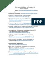 Artigos Para a Execução Do Trabalho de Neurofisiologia