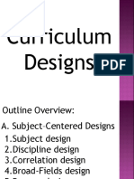 Curriculum Designs
