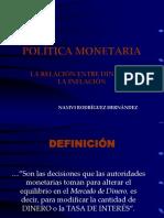 La Relación Entre Dinero y La Inflación-1