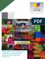 Instructivo para la implementación del PPE. Régimen Sierra-Amazonía 2017-2018 - copia.docx
