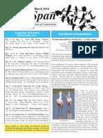 March 2010 Wingspan Wingspan Newsletter St. Petersburg Audubon Society