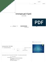 Immanuel Kant Ppt Carregar