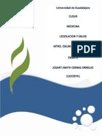 Legislacion y salud ensayo Josart.docx