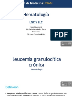 Leucemia Linfocitica Crónica  - Leucemia Granulocitica Crónica