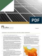 Solar Energy Industry in Iran