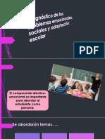 Dx. Problemas Emocinales, Sociales y Adaptación