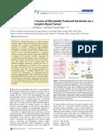 Serotonin Senzor