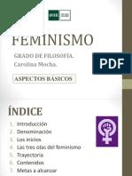 FEMINISMO. Aspectos básicos