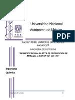 I.S Produccion de Metanol (FINAL)