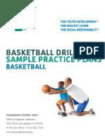 Basketball Drills & Practice Plans