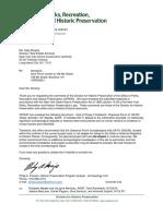 Parks Sca Letter