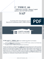 259898841 Latest SAP C THR12 66 Exam Questions Practice Test