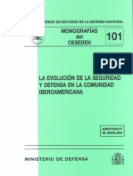 101 La Evolucion de La Seguridad y Defensa en La Comunidad Iberoamericana.