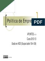 PolíticadeEmpresav1.5 Para Alumnos