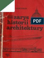 E. Charytonow Zarys Historii Architektury Cz.1