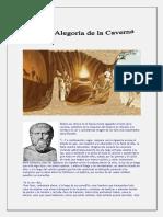 Mito o Alegoria de La Caverna Platon