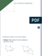 Ecuaciones de Rectas y Planos (Sec 12.5)