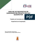 ANÁLISE DE REQUISITOS DE HARDWARE EM PROJETO DE UAV QUADROTOR.pdf