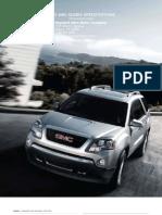 2010 Gmc Acadia Brochure Heyward Allen Motor Company Atlanta, GA