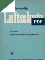 Schriftenreihe Luftschutz 11 - Konventionell Abwurfmittel