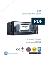 Multilin f60 - Manual