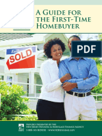 First-Time Home buyer Guide